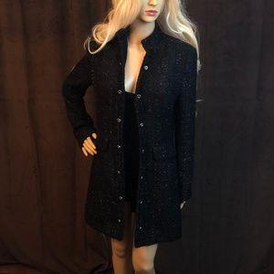Shape FX Black Sparkle Evening Jacket